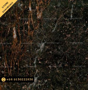 سنگ-مشکی با خط های طلایی-محلات