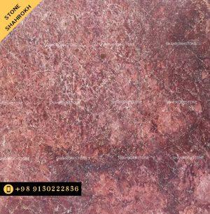 سنگ-مرمریت-گلدن رزاردستان زمینه قرمز با رگهای سفید