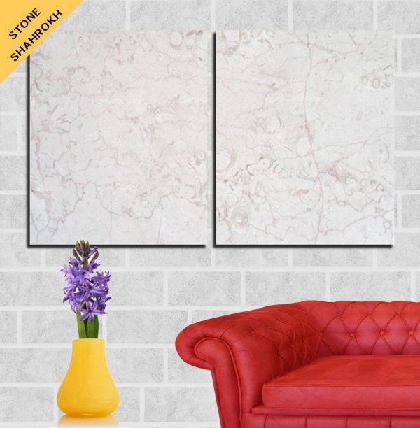 Building stone, Pink marble stone, Stone floor, Salsal,فسیلی