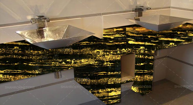 نما-سنگ-سنگ-مرمریت-خارجی-زرد-ایتالیا-با-زمینه-مشکی-ایتالین-گلد-Italian-Gold-Marble