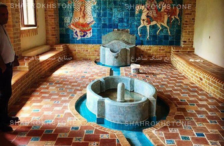 نما سنگ گرانیت آبی و فیروزه ای مشهد (13)
