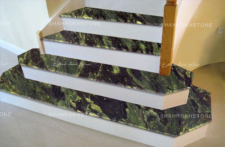 سنگ-پله-گرانیت-سبز-جنگلی