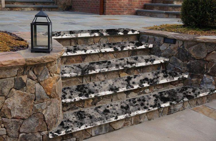 سنگ-پله-گرانیت-مشکی-برفی-الموت