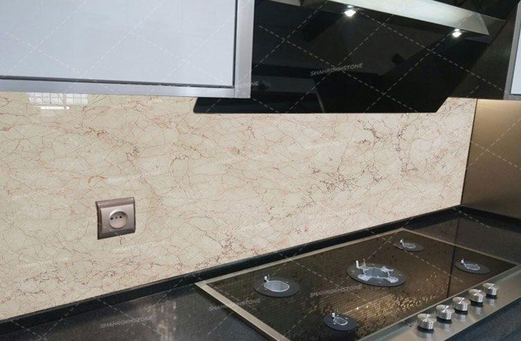 نما-دیوار-آشپزخانه-باسنگ-مرمریت-کاشمر