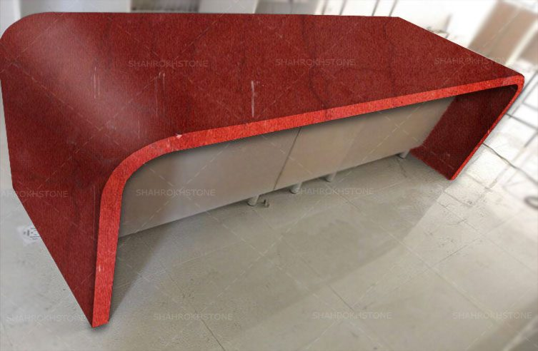 سنگ کابینت خاتم,کابینت مرمریت,سنگ قرمز کابینت