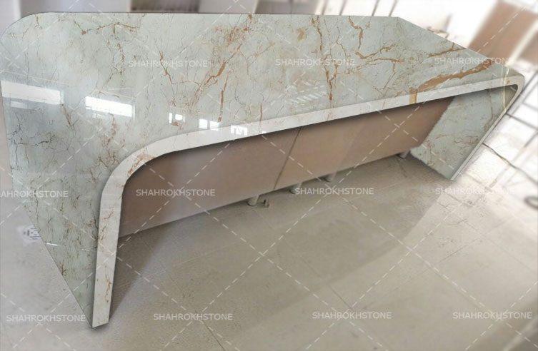 میز سنگی مرمریت کاملیا